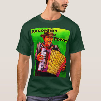 Accordion Power T-Shirt