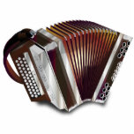 """Accordion Statuette<br><div class=""""desc"""">The accordion is a box-shaped musical instrument of the bellows-driven free-reed aerophone family,  sometimes referred to as a squeezebox.  A person who plays the accordion is called an accordionist.</div>"""