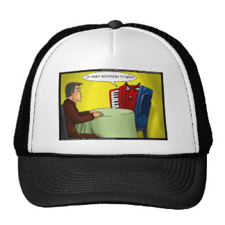 Accordion To Who Funny Gifts Tees & Cards Mesh Hat