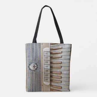 """accordion"" TOTE BAG"