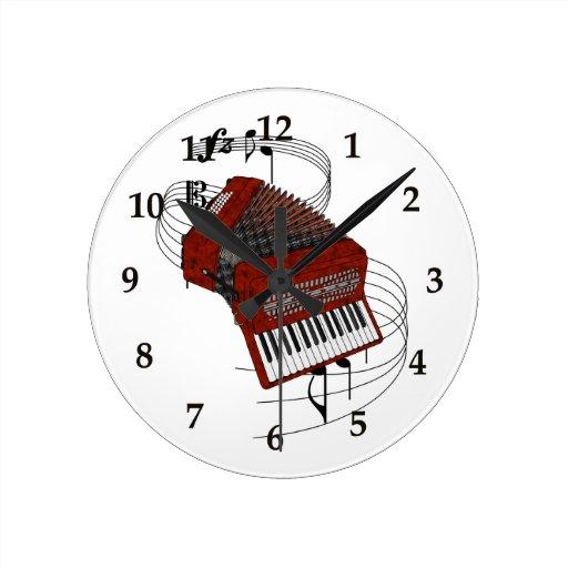 Accordion Wall Clock