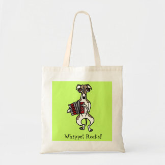 Accordion Whippet Tote Bag
