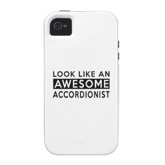 ACCORDIONIST Designs Case-Mate iPhone 4 Cases