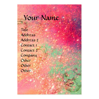 ACCORDIONIST pink Large Business Cards (Pack Of 100)