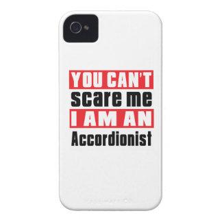 Accordionist scare designs Case-Mate iPhone 4 case