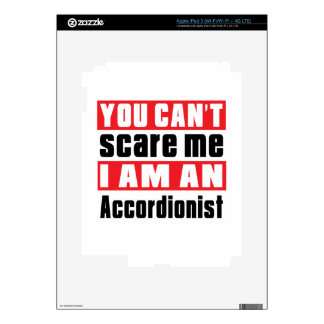 Accordionist scare designs skins for iPad 3