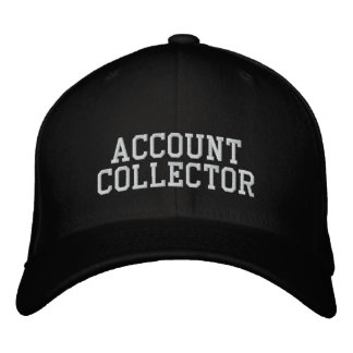 Account Collector Embroidered Baseball Hat