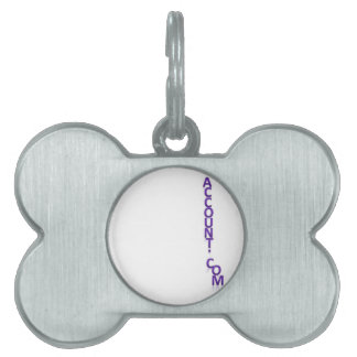 Account Doctor Pet Name Tag
