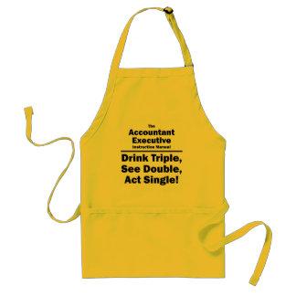 account executive instruction manual adult apron