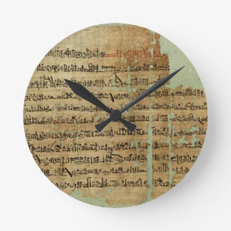 Account of the Battle of Qadesh, given to Syria by Round Wall Clocks
