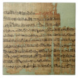 Account of the Battle of Qadesh, given to Syria by Ceramic Tile