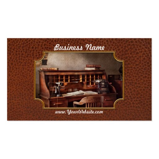 Accountant - Accounting Firm Business Card