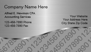 Cpa Business Cards Zazzle