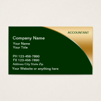 Accountant business card templates best business cards accounting business cards templates zazzle fbccfo Image collections