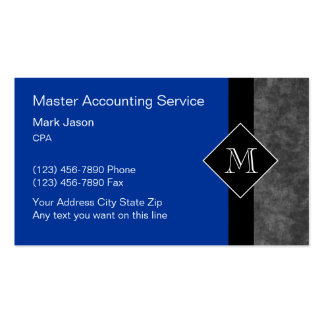 Accounting Business Cards & Templates