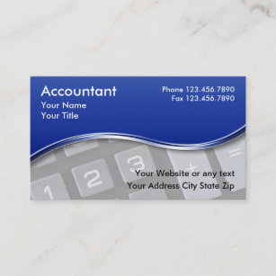 Cpa business cards zazzle accountant business cards reheart Images