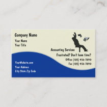 Accountant Business Cards