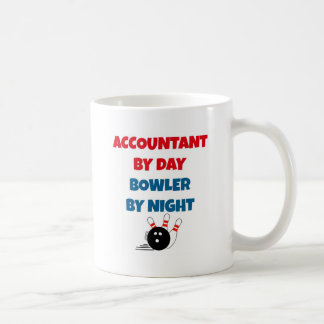 Accountant by Day Bowler by Night Coffee Mug