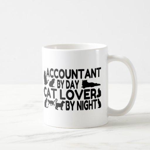 Accountant Cat Lover Mugs