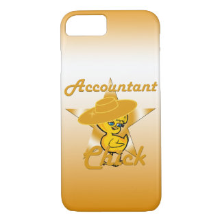 Accountant Chick #10 iPhone 7 Case