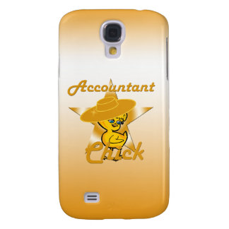 Accountant Chick #10 Samsung Galaxy S4 Cover
