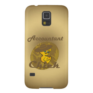 Accountant Chick #6 Galaxy S5 Case