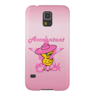 Accountant Chick #8 Galaxy S5 Cases