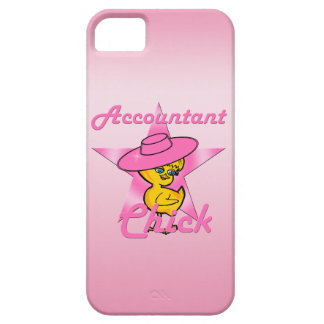 Accountant Chick #8 iPhone SE/5/5s Case