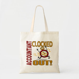 Accountant Clocked Out Tote Bag