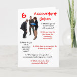 Accountant CPA 6 Accountant Jokes Funny Retirement Card