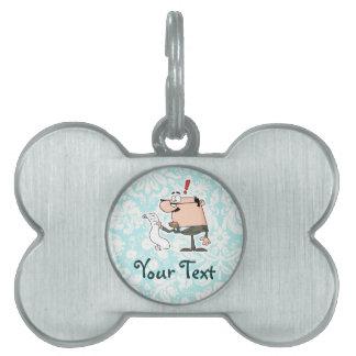 Accountant; Cute Pet Tags