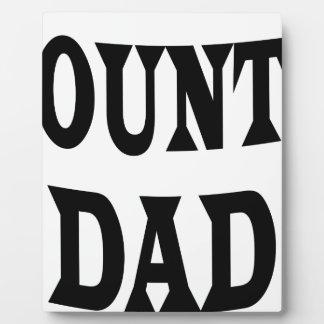 ACCOUNTANT DAD PLAQUE