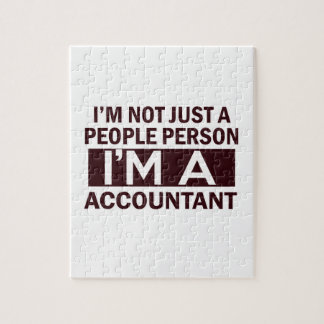 accountant design jigsaw puzzles