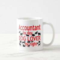 Accountant Dog Lover Coffee Mug