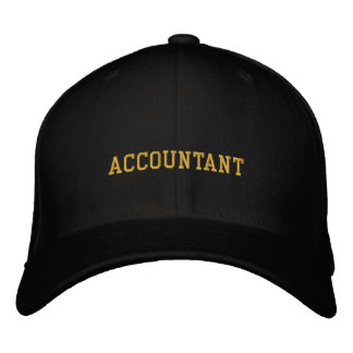 Accountant Embroidered Hats