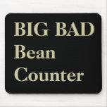 Accountant Funny Nicknames - Bad Beancounter Mouse Pad