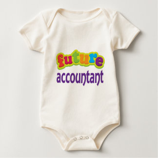 Accountant (Future) For Child Baby Bodysuit