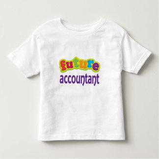 Accountant (Future) For Child Toddler T-shirt