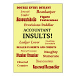 ACCOUNTANT INSULTS !! Birthday Greeting Cards