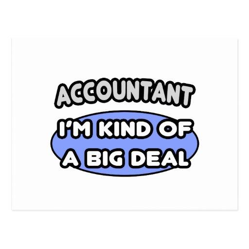 Accountant...Kind of a Big Deal Postcards