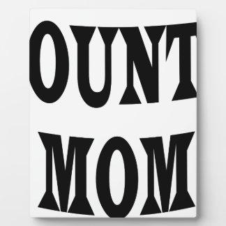 ACCOUNTANT MOM PLAQUE