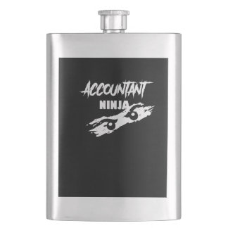 Accountant ninja, #Accountant Flask