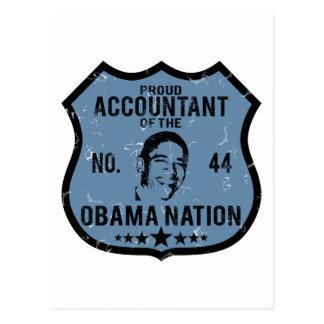 Accountant Obama Nation Postcard