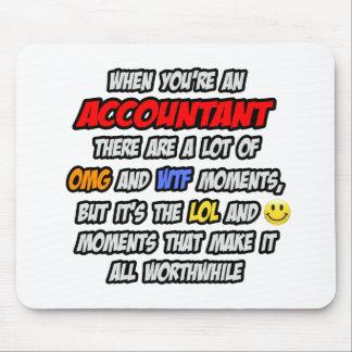 Accountant OMG WTF LOL Mousepad