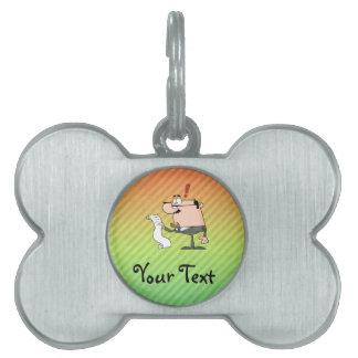 Accountant Pet Tag