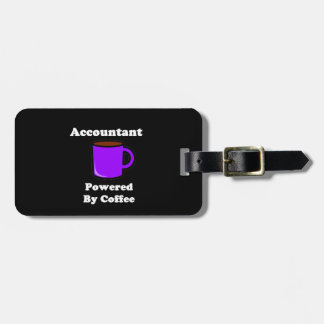 """""""Accountant"""" Powered by Coffee Tag For Luggage"""