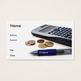 Accountant Profile Card