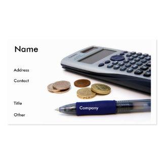 Accountant Profile Card Business Card Templates