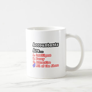 Accountant Quiz...Joke Classic White Coffee Mug