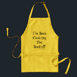 "Accountant Retirement Gift Idea Cooking the Books Adult Apron<br><div class=""desc"">Retire in style with this witty accountant apron.</div>"